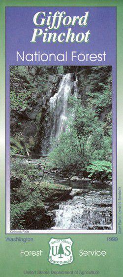 Gifford Pinchot National Forest Map - WA
