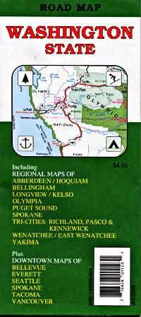 Washington State Road Map - Travel Map of Washington State on