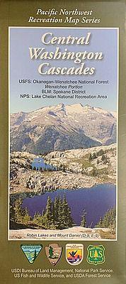 Central Washington Cascades Recreation Map (Wenatchee NF)