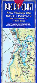 Pacific Coast South Map