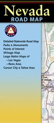 Nevada Recreational Road Map by Benchmark
