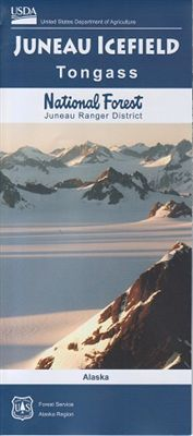 Juneau Icefield National Forest Map - AK