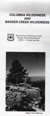 Columbia Wilderness & Badger Creek Wilderness - OR
