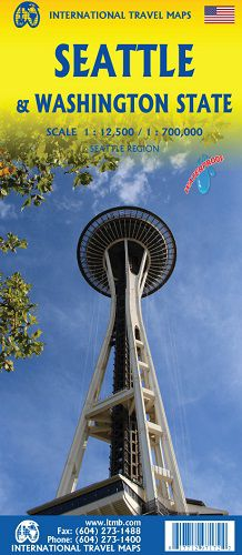 Seattle & Washington Travel Map l ITM