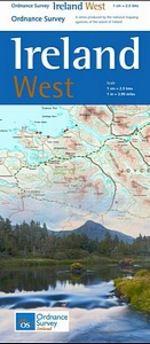 Ireland West Map by Ordinance Survey