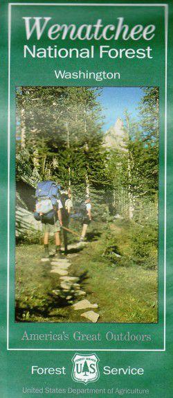 Wenatchee National Forest Map - WA