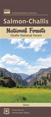 Challis National Forest Map - ID, Salmon-Challis Region