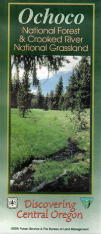 Ochoco National Forest Map - OR