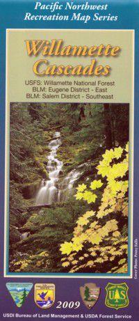 Willamette Cascades Map - OR