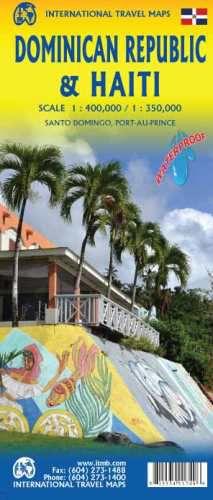 Dominican Republic & Haiti Map by ITM