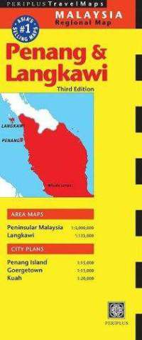 Penang & Langkawi Travel Map by Periplus