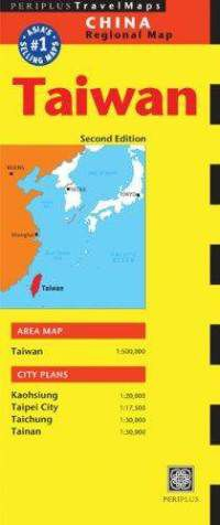 Taiwan Travel Map by Periplus