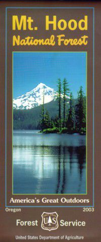 Mt. Hood National Forest Map - OR