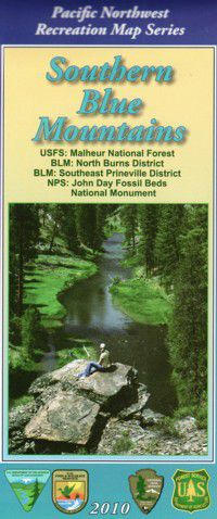 Malheur National Forest Map/Southern Blue Mtns - OR