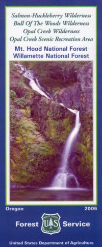 Salmon-Huckleberry Wilderness & Bull of the Woods Wilderness - OR