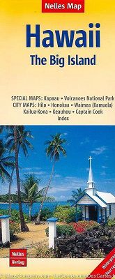 Big Island of Hawaii Travel Map by Nelles