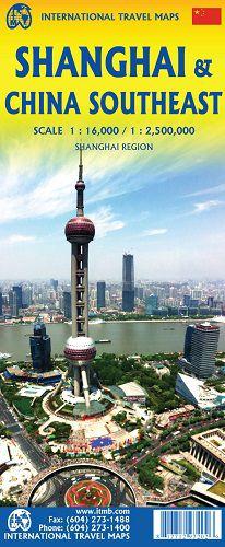 Shanghai & SE China Travel Map