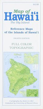 Big Island of Hawaii Travel Map by UHP