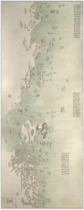 Antique Map of China 1787 - Macau Coast