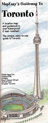 Toronto by Mapeasy