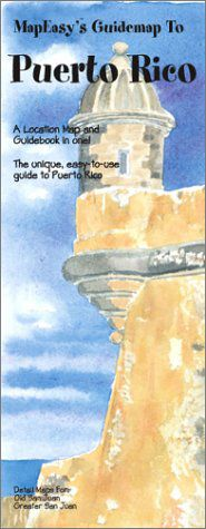 Puerto Rico Tourist Map by Mapeasy