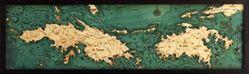 Virgin Islands Woodchart