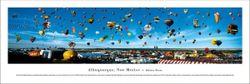 Albuquerque Balloon Festival Panorama Print