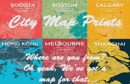 Click here to check out our City Prints!