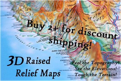 Click here to see 3D Raised Relief Maps!