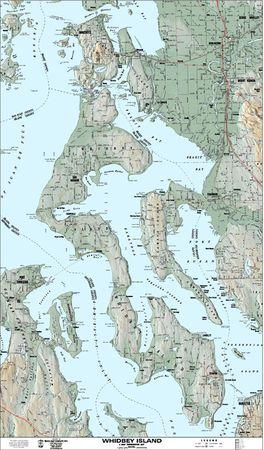 Whidbey Island Map Map Of Whidbey Island Amp Camano Island