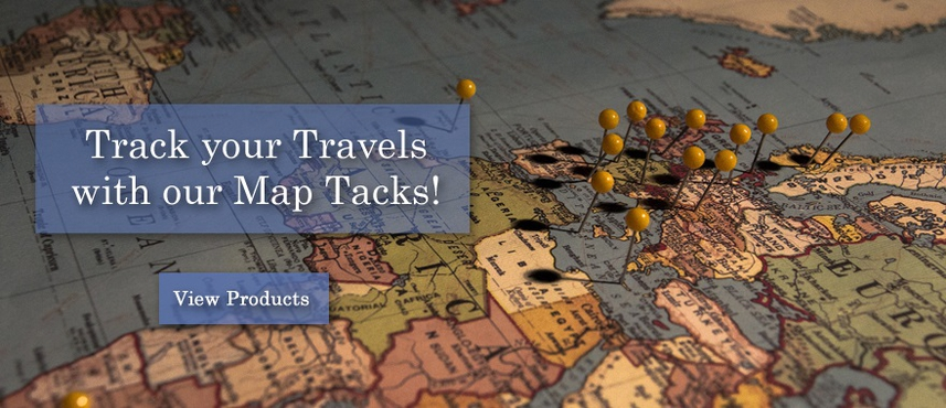 Peruse our Map Pins now!